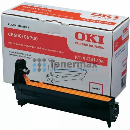 OKI 43381706, obrazový válec originální pro tiskárny OKI C5600, C5600dn, C5600n, C5700, C5700dn, C5700n
