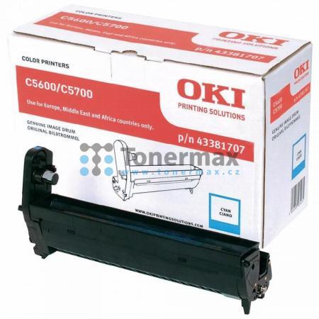 OKI 43381707, obrazový válec originální pro tiskárny OKI C5600, C5600dn, C5600n, C5700, C5700dn, C5700n