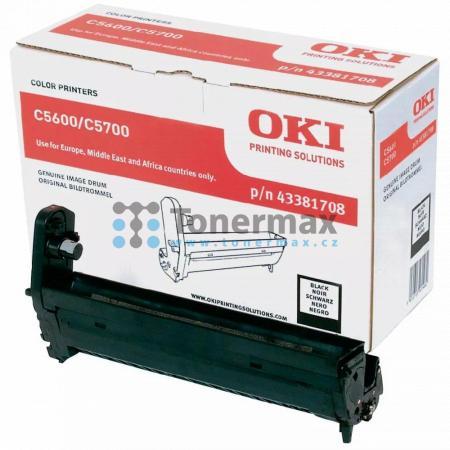 OKI 43381708, obrazový válec, poškozený obal originální pro tiskárny OKI C5600, C5600dn, C5600n, C5700, C5700dn, C5700n