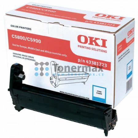 OKI 43381723, obrazový válec originální pro tiskárny OKI C5550, C5550 MFP, C5550MFP, C5800, C5800dn, C5800n, C5900, C5900cdtn, C5900dn, C5900dtn, C5900n