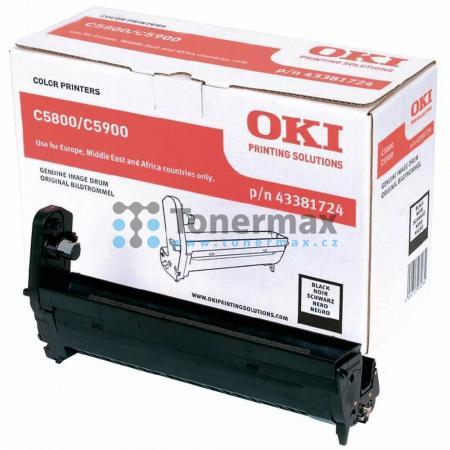 OKI 43381724, obrazový válec originální pro tiskárny OKI C5550, C5550 MFP, C5550MFP, C5800, C5800dn, C5800n, C5900, C5900cdtn, C5900dn, C5900dtn, C5900n