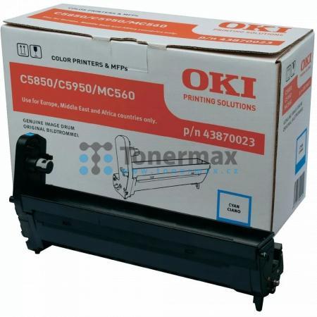 OKI 43870023, obrazový válec originální pro tiskárny OKI C5850, C5850dn, C5850n, C5950, C5950cdtn, C5950dn, C5950dtn, C5950n, MC560, MC560n