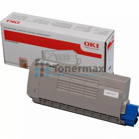OKI 44318608, poškozený obal, originální toner pro tiskárny OKI C710, C710cdtn, C710dn, C710dtn, C710n, C711, C711cdtn, C711dn, C711dtn, C711n