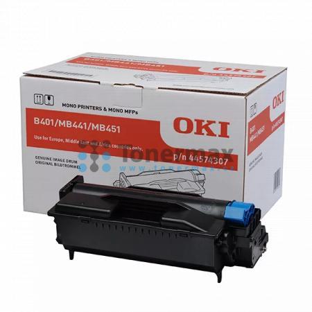 OKI 44574307, obrazový válec originální pro tiskárny OKI B401, B401d, B401dn, MB441, MB441dn, MB451, MB451dn, MB451dnw, MB451w