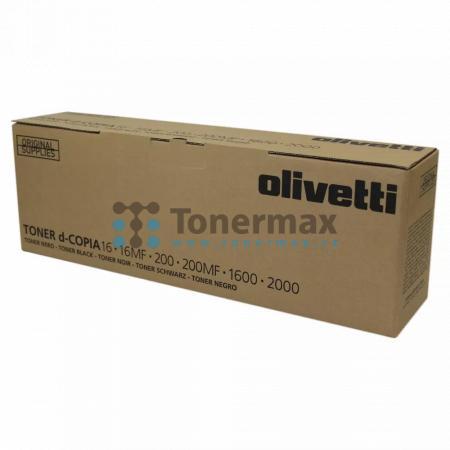 Olivetti B0446, originální toner pro tiskárny Olivetti d-Copia 16, d-Copia 16MF, d-Copia 200, d-Copia 200MF, d-Copia 1600, d-Copia 2000