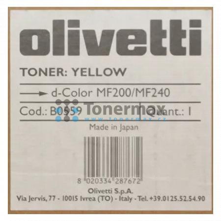 Olivetti B0559, originální toner pro tiskárny Olivetti d-Color MF200, d-Color MF 200, d-Color MF240, d-Color MF 240