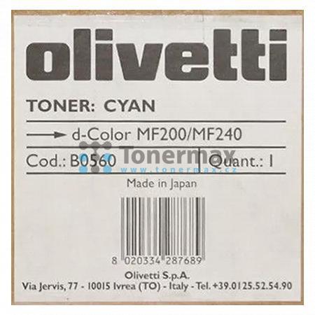 Olivetti B0560, originální toner pro tiskárny Olivetti d-Color MF200, d-Color MF 200, d-Color MF240, d-Color MF 240