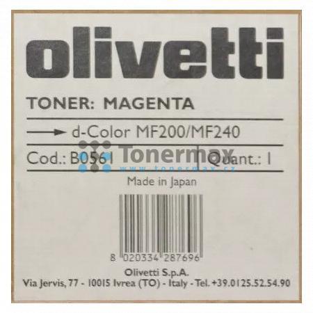 Olivetti B0561, originální toner pro tiskárny Olivetti d-Color MF200, d-Color MF 200, d-Color MF240, d-Color MF 240