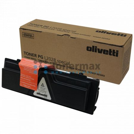 Olivetti B0740, originální toner pro tiskárny Olivetti PG L2028 Special, d-Copia 283MF, d-Copia 283MF plus, d-Copia 283MFPlus, d-Copia 284MF