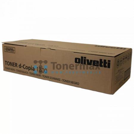 Olivetti B0839, poškozený obal, originální toner pro tiskárny Olivetti d-Copia 1800, d-Copia 1800MF, d-Copia 2200, d-Copia 2200MF