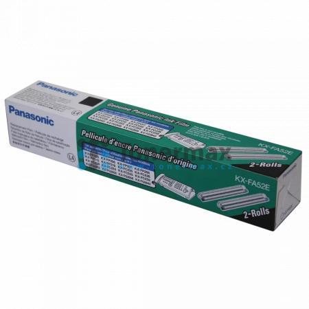 Panasonic KX-FA52E, fólie do faxu, originální pro tiskárny Panasonic KX-FC225, KX-FC226, KX-FC228, KX-FC253, KX-FC255, KX-FC258, KX-FC278, KX-FG2452, KX-FG2658, KX-FG2858, KX-FG5643, KX-FP205, KX-FP206, KX-FP207, KX-FP208, KX-FP215, KX-FP218