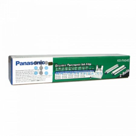 Panasonic KX-FA54E, fólie do faxu, originální pro tiskárny Panasonic KX-FC231, KX-FC233, KX-FC235, KX-FC238, KX-FC241, KX-FC243, KX-FC245, KX-FC248, KX-FC378, KX-FC379, KX-FC392, KX-FP141, KX-FP142, KX-FP143, KX-FP145, KX-FP146, KX-FP148
