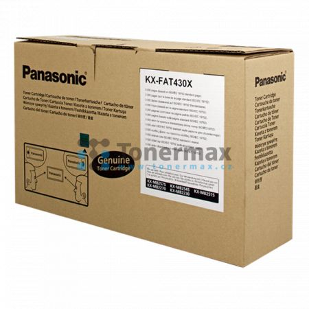 Panasonic KX-FAT430X, originální toner pro tiskárny Panasonic KX-MB2230, KX-MB2270, KX-MB2515, KX-MB2545, KX-MB2575