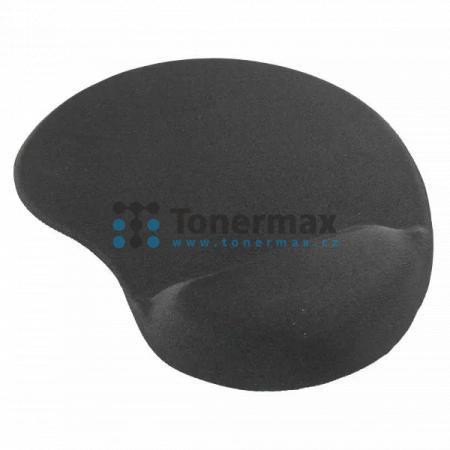 Podložka pod myš Memory Foam, černá, 22 x 25,7 cm