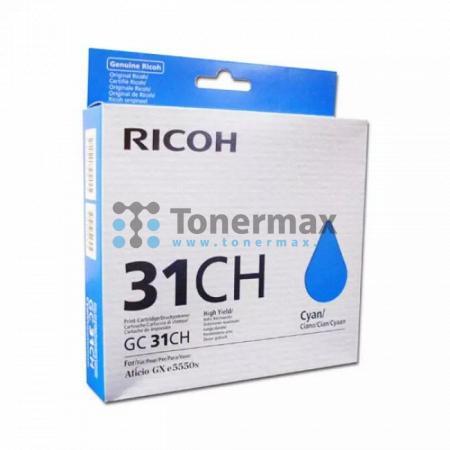Ricoh GC-31CH, GC31CH, 405702, originální cartridge pro tiskárny Ricoh Aficio GX e5550N, Aficio GX e7700N