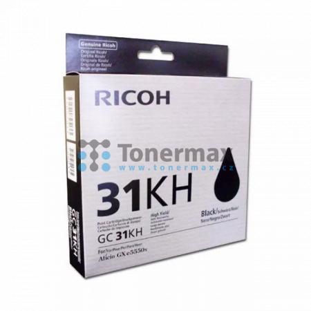 Ricoh GC-31KH, GC31KH, 405701, originální cartridge pro tiskárny Ricoh Aficio GX e5550N, Aficio GX e7700N