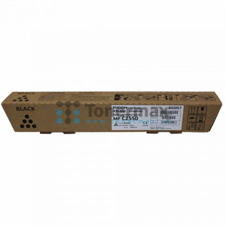 Ricoh MP C2550, 842057, originální toner pro tiskárny Ricoh Aficio MP C2030, Aficio MPC2030, Aficio MP C2050, Aficio MPC2050, Aficio MP C2530, Aficio MPC2530, Aficio MP C2550, Aficio MPC2550, kompatibilní také s Gestetner MP C2030 Aficio, MP C2050 Aficio,