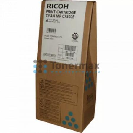 Ricoh MP C7500E, 841101, 841397, originální toner pro tiskárny Ricoh Aficio MP C6000, Aficio MPC6000, Aficio MP C7500, Aficio MPC7500