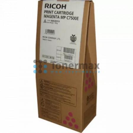 Ricoh MP C7500E, 841102, 841398, originální toner pro tiskárny Ricoh Aficio MP C6000, Aficio MPC6000, Aficio MP C7500, Aficio MPC7500