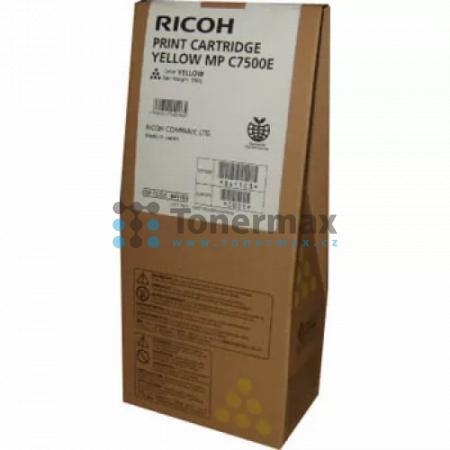 Ricoh MP C7500E, 841103, 841399, originální toner pro tiskárny Ricoh Aficio MP C6000, Aficio MPC6000, Aficio MP C7500, Aficio MPC7500