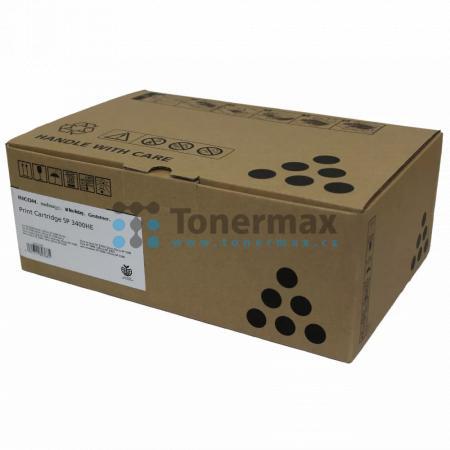 Ricoh SP 3400HE, 407648, originální toner pro tiskárny Ricoh Aficio SP 3400, Aficio SP3400, Aficio SP 3400N, Aficio SP3400N, Aficio SP 3400SF, Aficio SP3400SF, Aficio SP 3410DN, Aficio SP3410DN, Aficio SP 3410SF, Aficio SP3410SF, kompatibilní také s Geste
