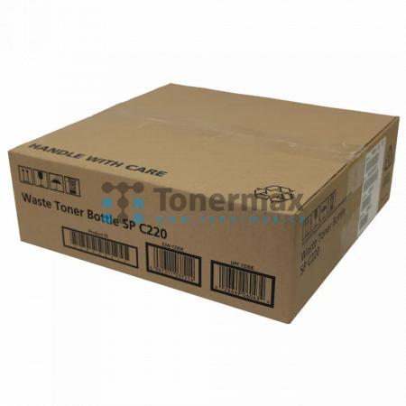 Ricoh SP C220, 406043, Waste Toner Bottle originální pro tiskárny Ricoh Aficio SP C220N, Aficio SPC220N, Aficio SP C220S, Aficio SPC220S, Aficio SP C221N, Aficio SPC221N, Aficio SP C221SF, Aficio SPC221SF, Aficio SP C222DN, Aficio SPC222DN, Aficio SP C222
