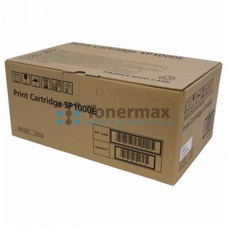 Ricoh SP1000E, 413196, 406525, originální toner pro tiskárny Ricoh Aficio SP 1000S, Aficio SP1000S, Aficio SP 1000SF, Aficio SP1000SF, Fax 1140L, Fax 1180L, kompatibilní také s Gestetner F110, F111, SP 1000S Aficio, SP 1000SF Aficio, Nashuatec F110, F111,