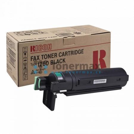 Ricoh Type 1260D, 430351, originální toner pro tiskárny Ricoh Fax 3310L, Fax 4410L, Fax 4410NF, Fax 4420L, Fax 4420NF, Fax 4430L, Fax 4430NF