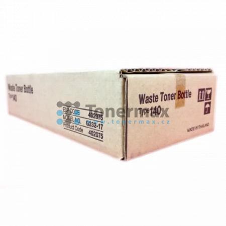 Ricoh Type 140, 402075, Waste Toner Bottle originální pro tiskárny Ricoh Aficio CL800, Aficio CL-800, Aficio CL1000, Aficio CL-1000, Aficio CL1000N, Aficio CL-1000N, Aficio SP C210SF, Aficio SPC210SF