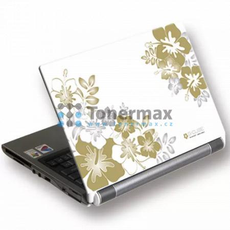 """Samolepka na notebook 15,4"""" Golden Sunrise bílé květiny, G-Cube"""