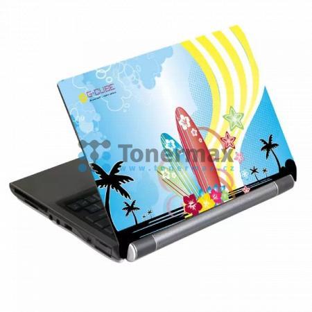 "Samolepka na notebook 17"", Aloha Splash windsurfing, G-Cube"