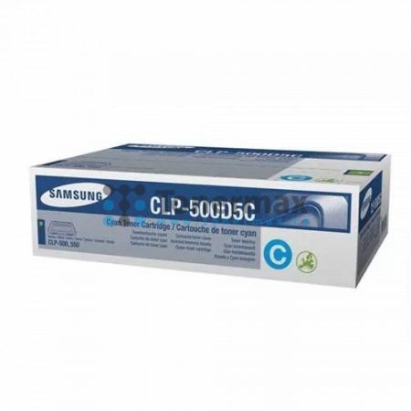 Samsung CLP-500D5C, originální toner pro tiskárny Samsung CLP-500, CLP-500N, CLP-550, CLP-550N