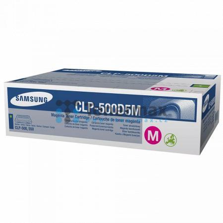 Samsung CLP-500D5M, originální toner pro tiskárny Samsung CLP-500, CLP-500N, CLP-550, CLP-550N