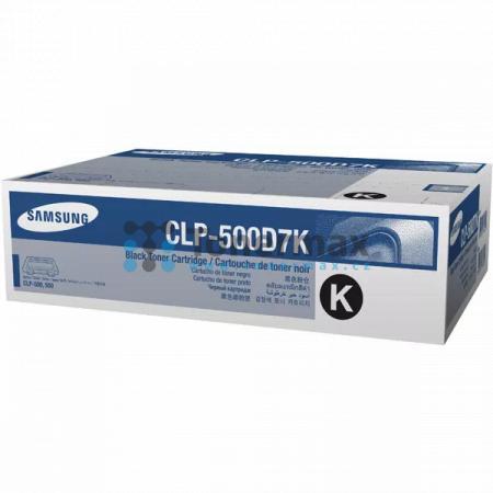 Samsung CLP-500D7K, originální toner pro tiskárny Samsung CLP-500, CLP-500N, CLP-550, CLP-550N