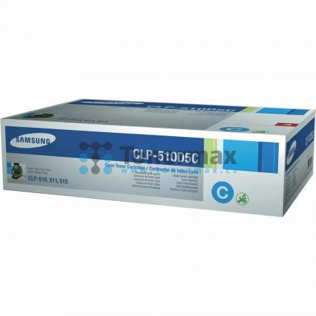 Samsung CLP-510D5C, poškozený obal, originální toner pro tiskárny Samsung CLP-510, CLP-510N