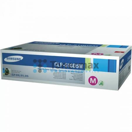 Samsung CLP-510D5M, originální toner pro tiskárny Samsung CLP-510, CLP-510N