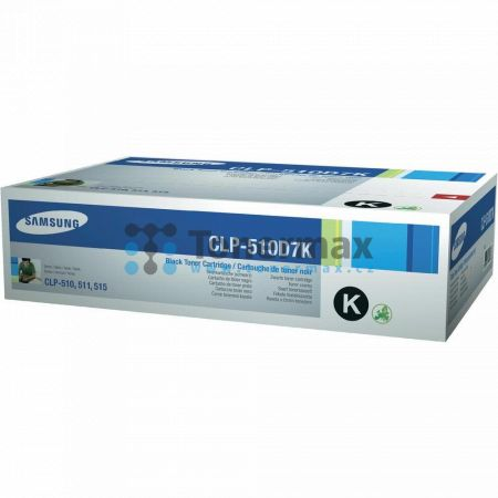 Samsung CLP-510D7K, originální toner pro tiskárny Samsung CLP-510, CLP-510N