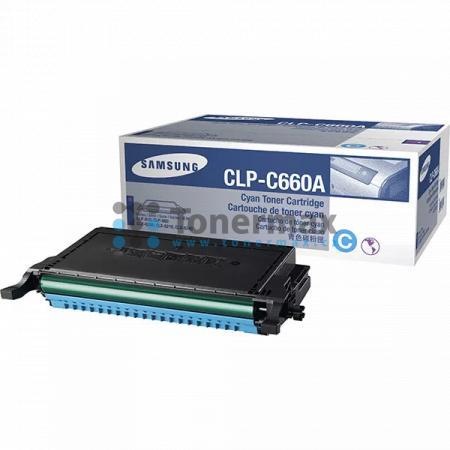 Samsung CLP-C660A, originální toner pro tiskárny Samsung CLP-610ND, CLP-660N, CLP-660ND, CLX-6200FX, CLX-6200ND, CLX-6210FX, CLX-6240, CLX-6240FX