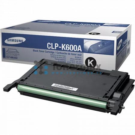 Samsung CLP-K600A, originální toner pro tiskárny Samsung CLP-600, CLP-600N, CLP-650, CLP-650N