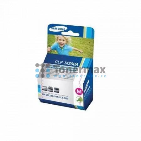 Samsung CLP-M300A, originální toner pro tiskárny Samsung CLP-300, CLP-300N, CLX-2160, CLX-2160N, CLX-3160, CLX-3160FN, CLX-3160N