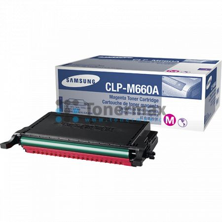 Samsung CLP-M660A, originální toner pro tiskárny Samsung CLP-610ND, CLP-660N, CLP-660ND, CLX-6200FX, CLX-6200ND, CLX-6210FX, CLX-6240, CLX-6240FX