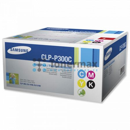 Samsung CLP-P300C, sada tonerů, originální toner pro tiskárny Samsung CLP-300, CLP-300N, CLX-2160, CLX-2160N, CLX-3160, CLX-3160FN, CLX-3160N