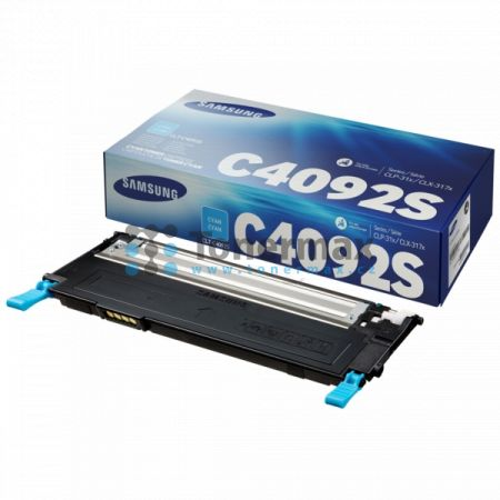 Samsung CLT-C4092S, originální toner pro tiskárny Samsung CLP-310, CLP-310N, CLP-315, CLP-315W, CLX-3170, CLX-3170FN, CLX-3170N, CLX-3175, CLX-3175FN, CLX-3175FW, CLX-3175N