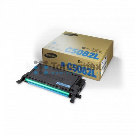 Samsung CLT-C5082L, originální toner pro tiskárny Samsung CLP-620ND, CLP-670N, CLP-670ND, CLX-6220FX, CLX-6250FX