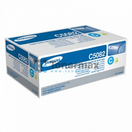 Samsung CLT-C5082S, originální toner pro tiskárny Samsung CLP-620ND, CLP-670N, CLP-670ND, CLX-6220FX, CLX-6250FX