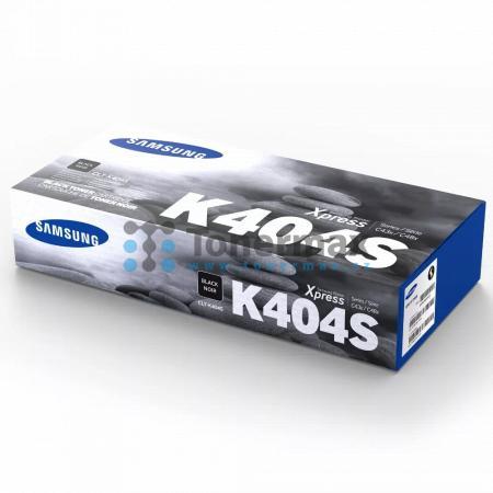 Samsung CLT-K404S, originální toner pro tiskárny Samsung Xpress C430, SL-C430, Xpress C430W, SL-C430W, Xpress C480, SL-C480, Xpress C480FN, SL-C480FN, Xpress C480FW, SL-C480FW, Xpress C480W, SL-C480W