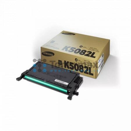 Samsung CLT-K5082L, originální toner pro tiskárny Samsung CLP-620ND, CLP-670N, CLP-670ND, CLX-6220FX, CLX-6250FX