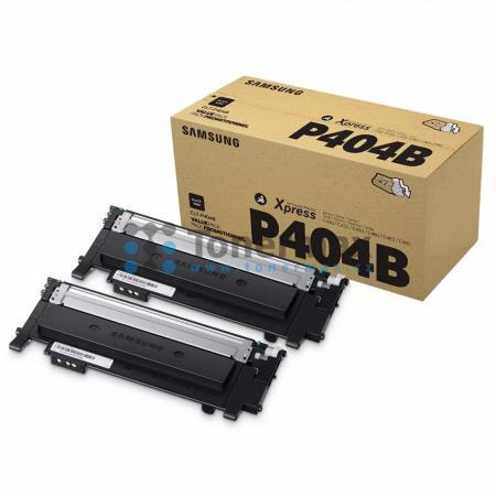Samsung CLT-P404B, dvoubalení, originální toner pro tiskárny Samsung Xpress C430, SL-C430, Xpress C430W, SL-C430W, Xpress C480, SL-C480, Xpress C480FN, SL-C480FN, Xpress C480FW, SL-C480FW, Xpress C480W, SL-C480W