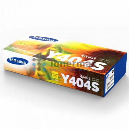 Samsung CLT-Y404S, originální toner pro tiskárny Samsung Xpress C430, SL-C430, Xpress C430W, SL-C430W, Xpress C480, SL-C480, Xpress C480FN, SL-C480FN, Xpress C480FW, SL-C480FW, Xpress C480W, SL-C480W