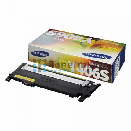 Samsung CLT-Y406S, originální toner pro tiskárny Samsung CLP-360, CLP-365, CLP-365W, CLX-3300, CLX-3305, CLX-3305FN, CLX-3305FW, CLX-3305W, Xpress C410W, SL-C410W, Xpress C460FW, SL-C460FW, Xpress C460W, SL-C460W, Xpress C467W, SL-C467W